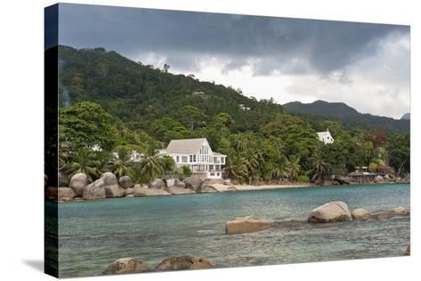 Baie Beau Vallon, Mahe, Seychelles, Indian Ocean Islands-Guido Cozzi-Stretched Canvas Print