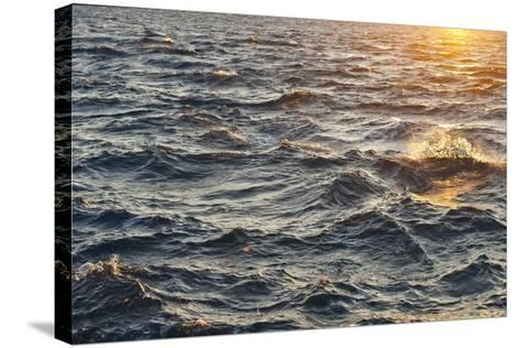 Sea at Sunset, Korcula Island, Croatia-Guido Cozzi-Stretched Canvas Print