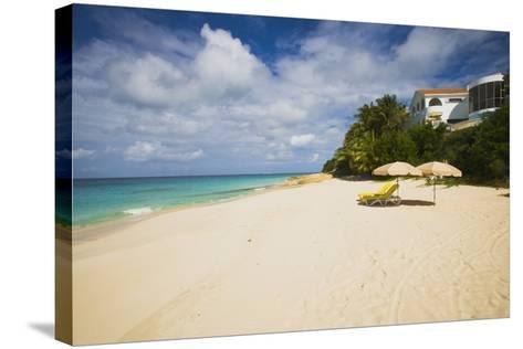 View of Turtle Cove Beach, Lesser Antilles, Anguilla-Stefano Amantini-Stretched Canvas Print
