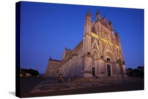 Cathedral of Orvieto-Terry Eggers-Stretched Canvas Print