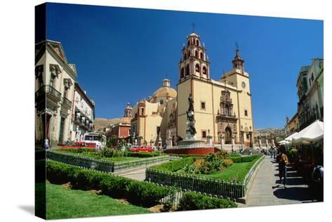 Baroque Basilica of Nuestra Senora De Guanajuato-Danny Lehman-Stretched Canvas Print