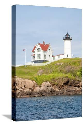 Nubble Lighthouse, Cape Neddick, York, Maine-Joseph Sohm-Stretched Canvas Print