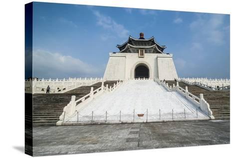 Chiang Kai-Shek Memorial Hall, Taipei, Taiwan, Asia-Michael Runkel-Stretched Canvas Print