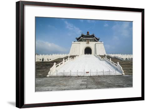 Chiang Kai-Shek Memorial Hall, Taipei, Taiwan, Asia-Michael Runkel-Framed Art Print