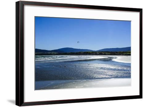 Te Waewae Bay, Along the Road from Invercargill to Te Anau, South Island, New Zealand, Pacific-Michael Runkel-Framed Art Print