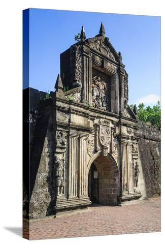 Entrance to the Old Fort Santiago, Intramuros, Manila, Luzon, Philippines, Southeast Asia, Asia-Michael Runkel-Stretched Canvas Print