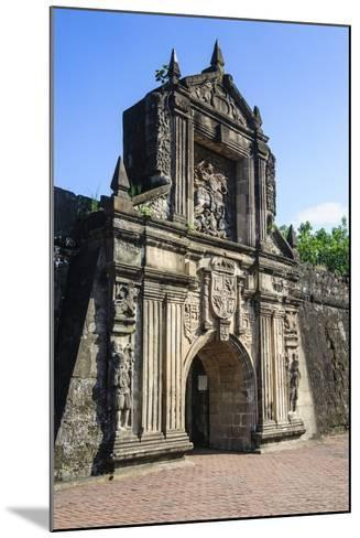 Entrance to the Old Fort Santiago, Intramuros, Manila, Luzon, Philippines, Southeast Asia, Asia-Michael Runkel-Mounted Photographic Print