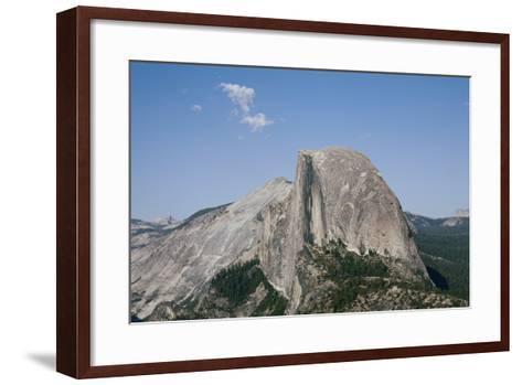 Half Dome from Glacier Point, Yosemite National Park, California, Usa-Jean Brooks-Framed Art Print