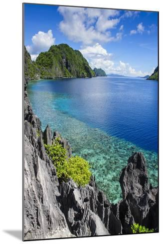 Crystal Clear Water in the Bacuit Archipelago, Palawan, Philippines, Southeast Asia, Asia-Michael Runkel-Mounted Photographic Print