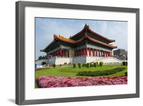 National Theatre on the Grounds of the Chiang Kai-Shek Memorial Hall, Taipeh, Taiwan-Michael Runkel-Framed Art Print