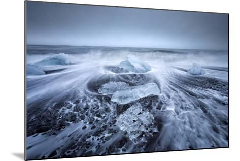 Jokulsa Beach on a Stormy Day-Lee Frost-Mounted Photographic Print