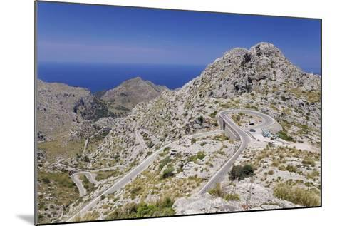 Serpentine Road to the Bay Cala De Sa Calobra-Markus Lange-Mounted Photographic Print