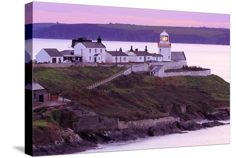 Roches Point Lighthouse, Whitegate Village, County Cork, Munster, Republic of Ireland, Europe-Richard Cummins-Stretched Canvas Print