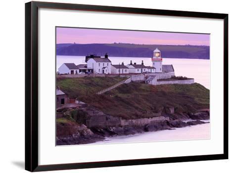 Roches Point Lighthouse, Whitegate Village, County Cork, Munster, Republic of Ireland, Europe-Richard Cummins-Framed Art Print