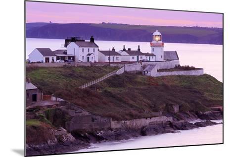 Roches Point Lighthouse, Whitegate Village, County Cork, Munster, Republic of Ireland, Europe-Richard Cummins-Mounted Photographic Print
