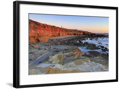 Low Tide, Cabrillo National Monument, Point Loma, San Diego, California, Usa-Richard Cummins-Framed Art Print