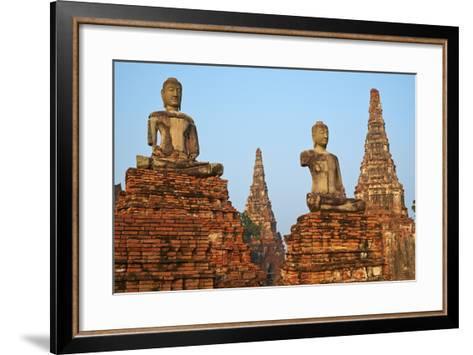 Wat Chai Wattanaram, Ayutthaya Historical Park, Ayutthaya, Thailand, Southeast Asia, Asia--Framed Art Print