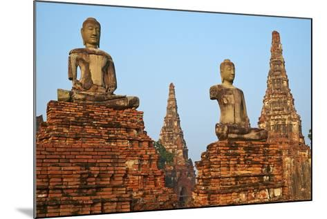 Wat Chai Wattanaram, Ayutthaya Historical Park, Ayutthaya, Thailand, Southeast Asia, Asia--Mounted Photographic Print