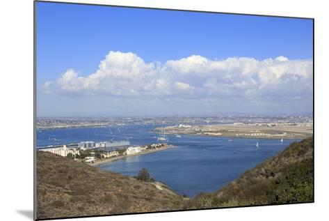San Diego Bay Viewed from Cabrillo National Monument, Point Loma, San Diego, California, Usa-Richard Cummins-Mounted Photographic Print