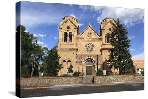 St. Francis Cathedral (Basilica of St. Francis of Assisi), Santa Fe, New Mexico, Usa-Wendy Connett-Stretched Canvas Print
