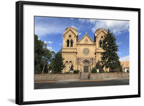 St. Francis Cathedral (Basilica of St. Francis of Assisi), Santa Fe, New Mexico, Usa-Wendy Connett-Framed Art Print