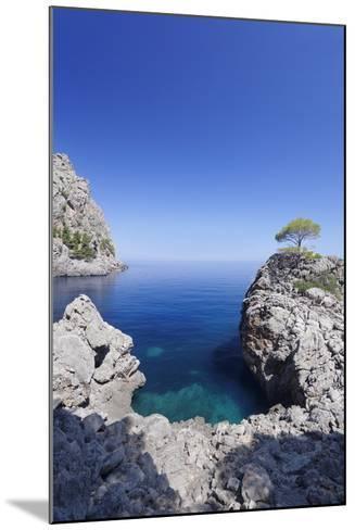 Bay Cala De Sa Calobra, Majorca (Mallorca), Balearic Islands (Islas Baleares)-Markus Lange-Mounted Photographic Print