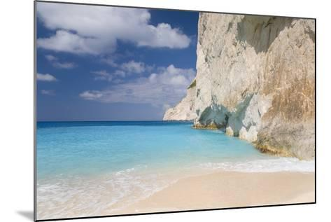 Limestone Cliffs Towering Above Turquoise Sea, Navagio Bay, Anafonitria-Ruth Tomlinson-Mounted Photographic Print