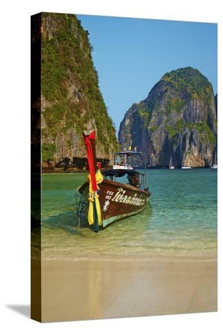 Ao Maya Bay, Ko Phi Phi Le Island, Krabi Province, Thailand, Southeast Asia, Asia--Stretched Canvas Print