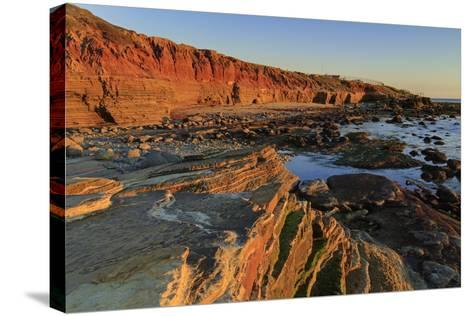 Low Tide, Cabrillo National Monument, Point Loma, San Diego, California, Usa-Richard Cummins-Stretched Canvas Print
