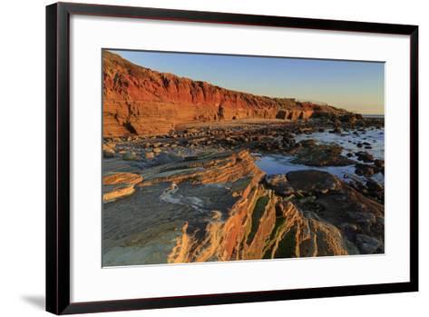 Low Tide, Cabrillo National Monument, Point Loma, San Diego, California, Usa-Richard Cummins-Framed Art Print