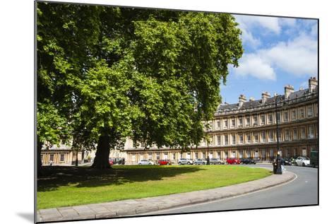 The Circus, Georgian Architecture in Bath, Avon and Somerset, England, United Kingdom, Europe-Matthew Williams-Ellis-Mounted Photographic Print