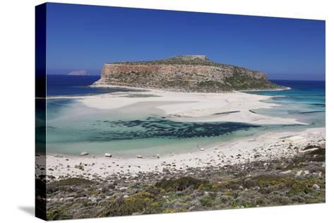 Balos Bay, Gramvousa Peninsula, Crete, Greek Islands, Greece, Europe-Markus Lange-Stretched Canvas Print