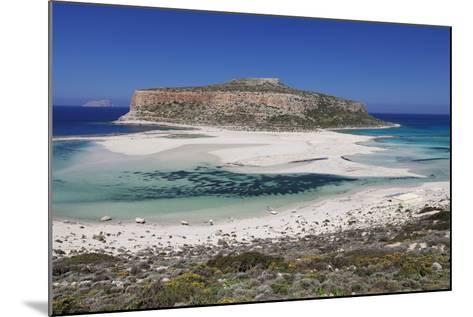 Balos Bay, Gramvousa Peninsula, Crete, Greek Islands, Greece, Europe-Markus Lange-Mounted Photographic Print