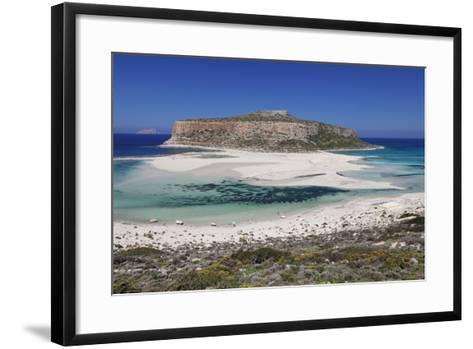 Balos Bay, Gramvousa Peninsula, Crete, Greek Islands, Greece, Europe-Markus Lange-Framed Art Print