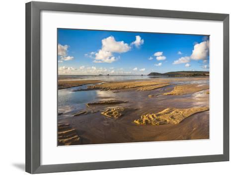 Trevose Head and Constantine Bay, Cornwall, England, United Kingdom, Europe-Matthew Williams-Ellis-Framed Art Print