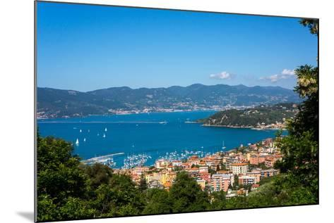 Lerici, View Overlooking Town and Bay, Liguria, Italy, Europe-Peter Groenendijk-Mounted Photographic Print