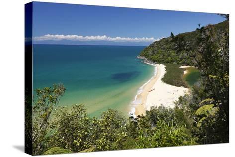 Sandfly Bay, Abel Tasman National Park, Nelson Region, South Island, New Zealand, Pacific-Stuart Black-Stretched Canvas Print