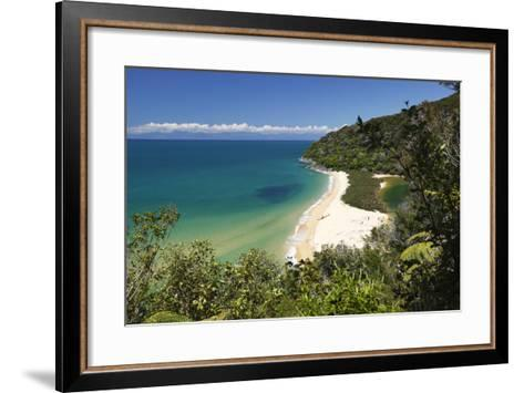 Sandfly Bay, Abel Tasman National Park, Nelson Region, South Island, New Zealand, Pacific-Stuart Black-Framed Art Print