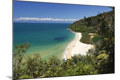 Sandfly Bay, Abel Tasman National Park, Nelson Region, South Island, New Zealand, Pacific-Stuart Black-Mounted Photographic Print