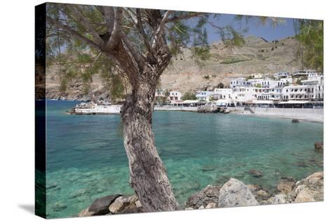 Chora Sfakion, South Crete, Crete, Greek Islands, Greece, Europe-Markus Lange-Stretched Canvas Print