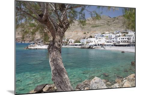 Chora Sfakion, South Crete, Crete, Greek Islands, Greece, Europe-Markus Lange-Mounted Photographic Print
