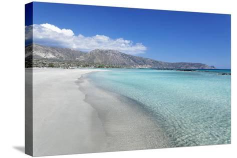 Elafonisi Beach, West Coast, Natural Park, Red Sand, Crete, Greek Islands, Greece, Europe-Markus Lange-Stretched Canvas Print