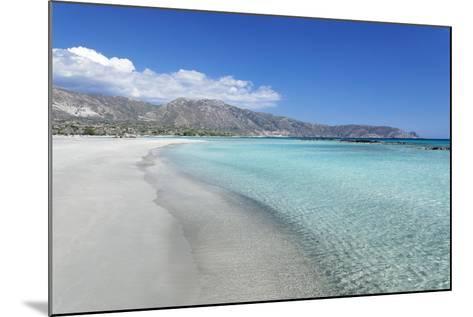 Elafonisi Beach, West Coast, Natural Park, Red Sand, Crete, Greek Islands, Greece, Europe-Markus Lange-Mounted Photographic Print