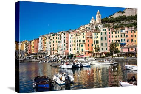 Porto Venere, Cinque Terre, UNESCO World Heritage Site, Liguria, Italy, Europe-Peter Groenendijk-Stretched Canvas Print