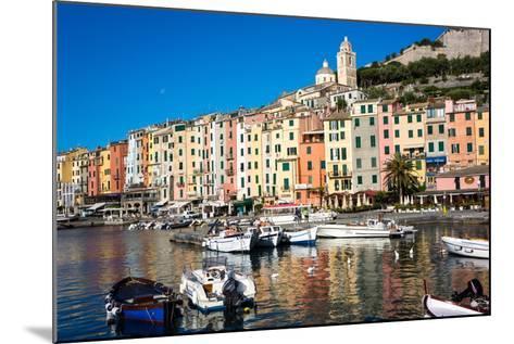 Porto Venere, Cinque Terre, UNESCO World Heritage Site, Liguria, Italy, Europe-Peter Groenendijk-Mounted Photographic Print