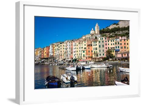 Porto Venere, Cinque Terre, UNESCO World Heritage Site, Liguria, Italy, Europe-Peter Groenendijk-Framed Art Print