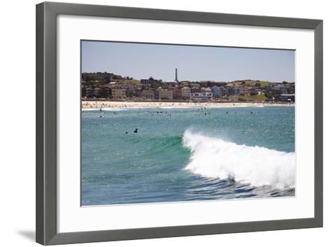 Bondi Beach, Sydney, New South Wales, Australia, Pacific-Mark Mawson-Framed Art Print