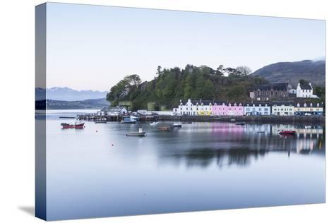Portree Harbour on the Isle of Skye, Inner Hebrides, Scotland, United Kingdom, Europe-Julian Elliott-Stretched Canvas Print
