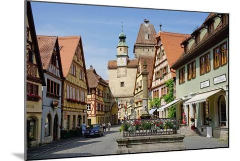 Markus Tower and Roder Arch, Rothenburg Ob Der Tauber, Romantic Road-Robert Harding-Mounted Photographic Print