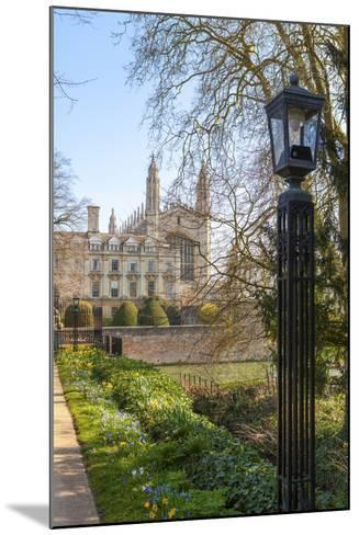 A View of Kings College from the Backs, Cambridge, Cambridgeshire, England, United Kingdom, Europe-Charlie Harding-Mounted Photographic Print